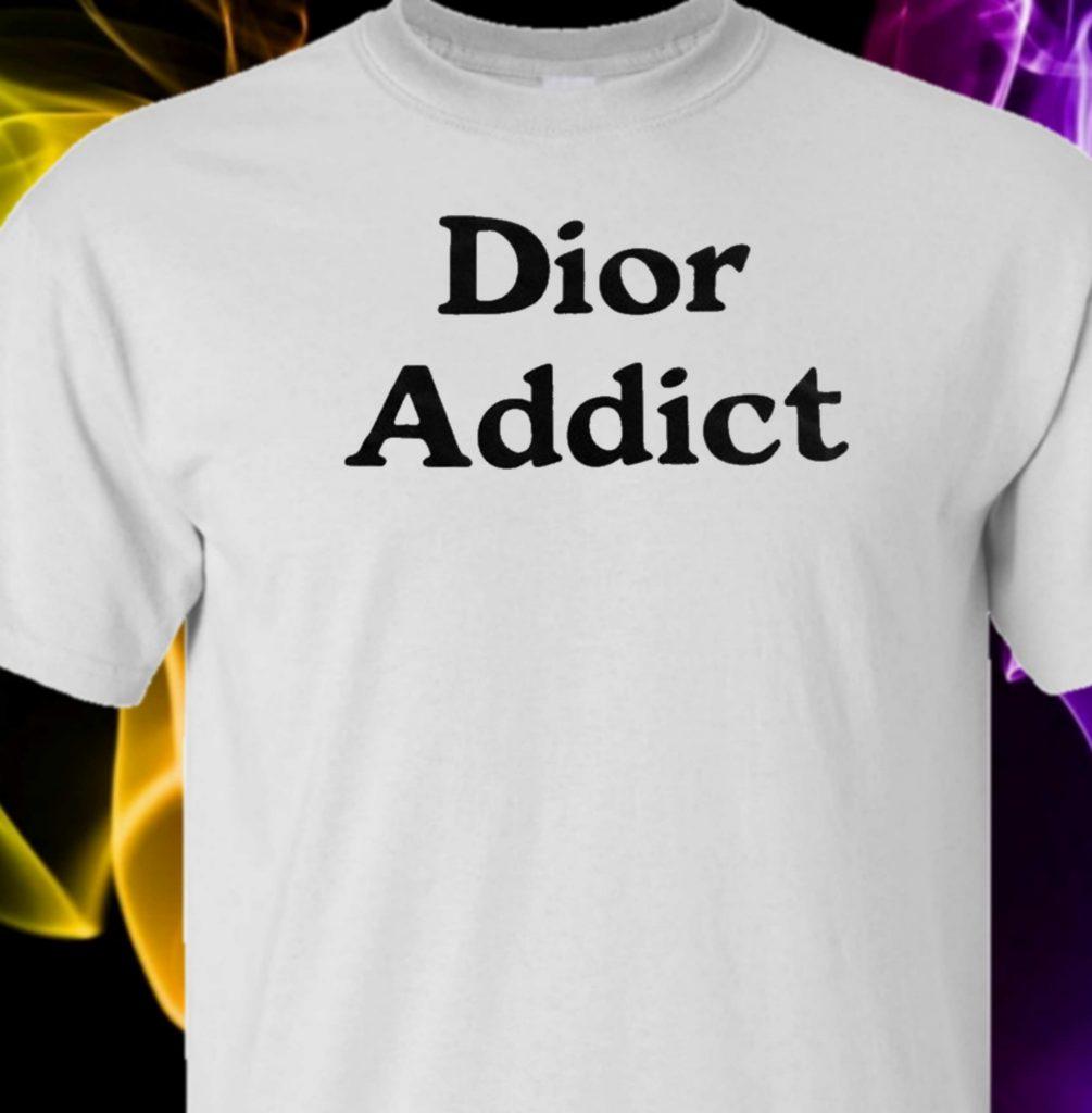 Industries LogoT Tshirtblack – White Addict Dior 5LAR4j